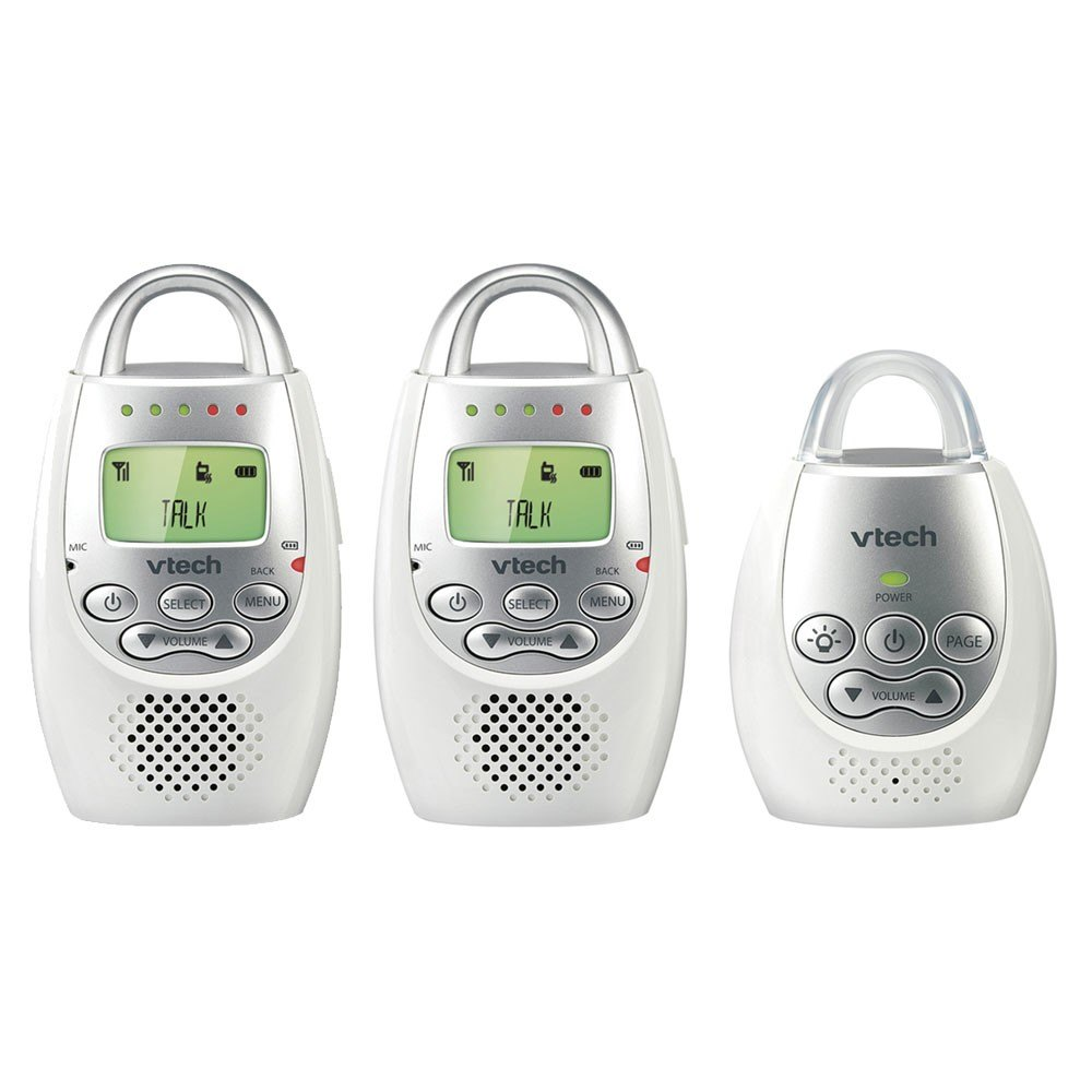 VTech HC-VT-DM221-2 Safe & Sound Baby Monitor with 2 Parent Units