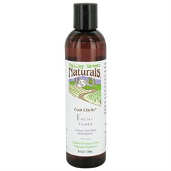 Cool Clarity Toner Valley Green Naturals 8 oz Liquid
