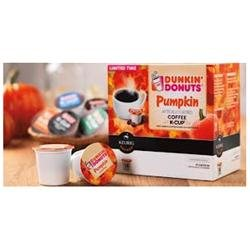 Dunkin Donuts Pumpkin 14 K cups - Next day USPS Priority Shipping ! Limited Time!