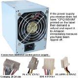 Genuine ATXPowerSupplies 250 Watt Power Supply (NOT A SUBSTITUTE) for Compaq 244166-001, DPS-240EB A, DPS-240EB, DC5000 Desktop, 308437-001, 308615-001, PDP-116P, D530, Evo D300, D500, HP-U250XC3, Presario 5423US, 5300, 5310LB, 5322RSH, 5422RSH, 5325LA, 5330US, 5350CA, 255712-002, 5400, 5450CA, 6000XX, 289769-002, 319235-001, 6100XX, 317218-001, 6200XX, 6300XX, 6024US, 5430US, 5320US, 255712-001, 255712-004, 243890-001, Delta, Business DK667A, Mitac MPU-110REFP