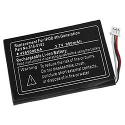 Internal Battery for Apple iPod 4 Gen 4th Generation mp102 photo color 616-0206 616-0183 m9282ll/a
