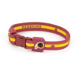 Youth Eagles Wings Washington Redskins Titanium Sport Bracelet