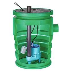 80 GPM Pit Plus Pre-Assembled Sewage Basin
