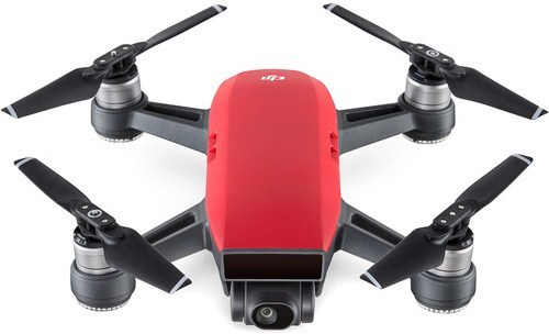 Dji Cp.pt.000735 Spark Indoor Mini Drone With Remote Controller - Lava Red
