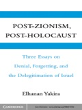 This book contains three independent essays, available in English for the first time, as well as a post-scriptum written for the English edition