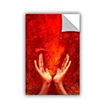 ArtWall Elana Ray's Visualize and Manifest Art Appeelz Removable Graphic Wall Art, 18 x 18