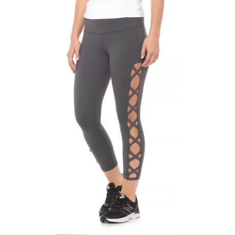 Missy Crisscross Side Capris (for Women)