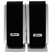 Imicro 2.0 Speaker System - 14 W Rms - Black, Silver - 160 Hz - 20 Khz - Usb Sp-imd168b