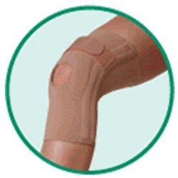 Juzo 3922DFIPLE 2 Genu 404 Knee Brace with 2 Bilateral Stays Inverted Horseshoe Pad Left