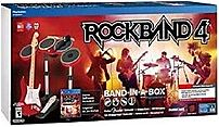 Mad Catz 728658046460 Rock Band 4 Band In-a-box Gaming Bundle - Red - Ps4