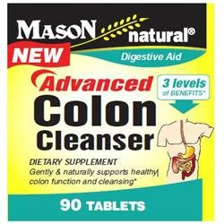 Mason Natural, Advanced Colon Cleanser, 90 Tablets