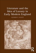 Exploring the idea of luxury in relation to a series of neighboring but distinct concepts including avarice, excess, licentiousness, indulgence, vitality, abundance, and waste, this study combines intellectual and cultural historical methods to trace discontinuities in luxury's conceptual development in seventeenth-century England