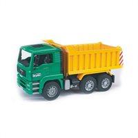 Bruder- Man Tga Tip Up Truck By Bruder