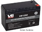 VERIZON FIOS UPGRADE REPLACEMENT BATTERY 12V 8AH SLA RECHARGEABLE BATTERY 15% LONGER RUN TIME by VICI