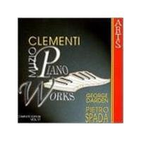 Muzio Clementi - Piano Works Vol. 17 (Music CD)