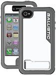 Ballistic Every1 Carrying Case (holster) For Iphone - Charcoal, White Ev0890-m185