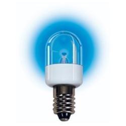 LED T6 Candelabra Screw (E12) 220V Blue