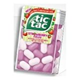 Tic Tac Strawberry Fields Candy - 12 count per pack -- 24 packs per case.