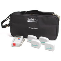 Startech.com Lantestpro Rj45 Network Cable Tester With 4 Remote Loopback Plugs - Network Tester