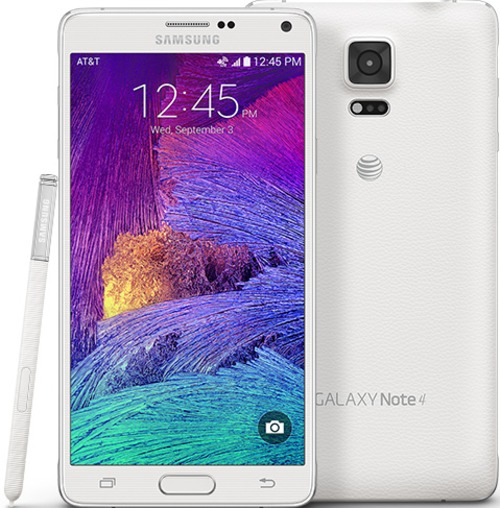 Samsung Galaxy Note 4 Sm-n910azweatt Smartphone - Bluetooth 4.1 - 5.7-inch Display - 32 Gb Storage Memory - At And T - 16.0 Megapixels Camera - Androi