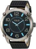 Folio Men's FMDMSG034 Analog Display Quartz Black Watch