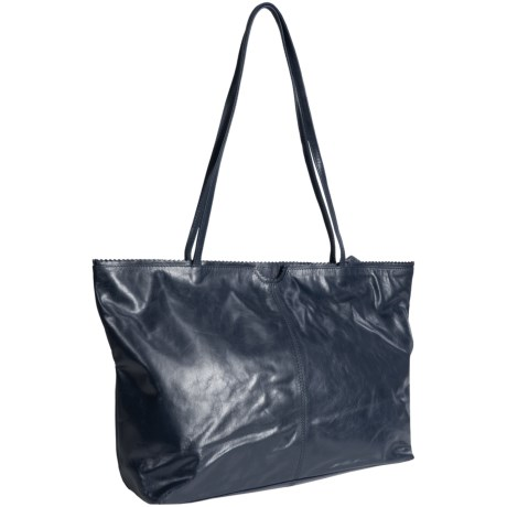 East West Shopping Tote Bag - Leather