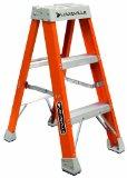 Louisville Ladder FS1503 300-Pound Duty Rating Fiberglass Step Ladder, 3-Feet