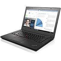 "Lenovo Thinkpad T460 20fn002sus 14"" Notebook - Intel Core I5 (6th Gen) I5-6200u Dual-core (2 Core) 2.30 Ghz - 4 Gb Ddr3l Sdram - 500 Gb Hdd - Windows 7 Professional 64-bit (english) Upgradable To Windows 10 Pro - 1366 X 768 - Twisted Nematic (tn) - Black"