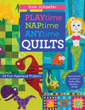 Colorful spaceships, magical mermaids, and jungle friends—Kim Schaefer is back with more imaginative appliqué! The best-selling author of Quilts, Bibs, Blankies...Oh My! rolls out 14 quilts and small projects for kids and toddlers in cheerful, engaging themes