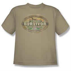 Youth(8-12yrs) SURVIVOR Short Sleeve TOCANTINS DISTRESSED Small T-Shirt Tee