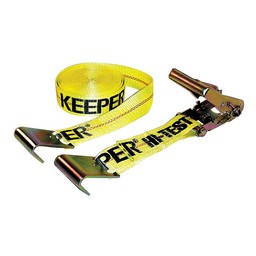 Keeper Corporation Ratchet Tie-down With Flat Hooks