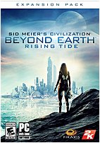The Take Two Interactive 41634 Sid Meier's Civilization  Beyond Earth  Rising Tide after the first wave of great colony ships departed Earth, the jubilation of humanity was short lived