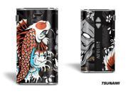 Designer Decal For Eleaf Istick 50w Vape - Tsunami