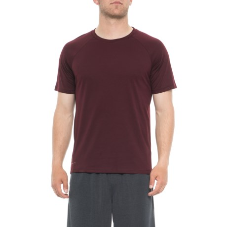 Sueded Knit T-shirt - Short Sleeve (for Men)