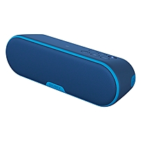 Sony Srs-xb2 Speaker System - Wireless Speaker(s) - Portable - Battery Rechargeable - Blue - 20 Hz - 20 Khz - Wireless Lan - Bluetooth - Near Field Communication - Usb - Advanced Audio Coding (aac), Passive Radiator, Clearaudio , Digital Sound Enhancement Srs-xb2/blue