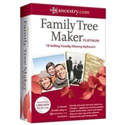 Nova Development Corp 41391 Family Tree Maker Platinum 2012
