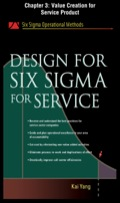 Design For Six Sigma For Service, Chapter 3 - Value Creation For Service Product