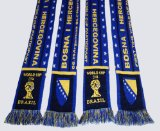Bosnia and Herzegovina 2014 World Cup Acrylic Knitted Scarf