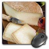 3dRose Cuisines, Pecorino Cheese, Tuscany, Italy - EU16 Nto0468 Mouse Pad, 8