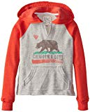 Billabong Big Girls' Day Away Pullover Sweatshirt, Rio Red, Large