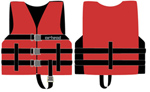 Airhead 1000202ard Universal Open Side Life Vest - Child Red