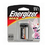 ENERGIZER 522BP Long-Life Alkaline Batteries (9V; Single)