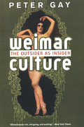 A seminal work as melodious and haunting as the era it chronicles, now reissued with a new introduction.First published in 1968, Weimar Culture is one of the masterworks of Peter Gay's distinguished career
