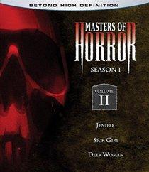 Masters Of Horror Blu-ray - Season 1 Volume 2