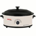 Nesco 4816-14-30 6 Qt Ivory Non-stick Cookwell Blk Lid