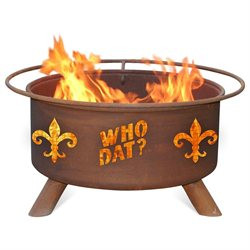 Patina Collegiate/Team - Who Dat Fire Pit