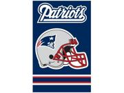 """NEW ENGLAND PATRIOTS 44""""x28"""" 2-SIDED BANNER FLAG AFNE Size/Dimensions: 44"""" x 28"""" Team: New England Patriots Type: Home and Living Sport: Football Item Count: 1"""