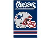 "New England Patriots 44""x28"" 2-sided Banner Flag Afne"