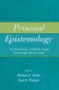 This is the first book to provide a comprehensive overview of the theoretical and methodological approaches to the study of personal epistemology from a psychological and educational perspective