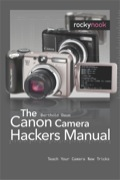 The book addresses 'geeky' owners of Canon consumer cameras who would like to explore the possibilities of their cameras, and eventually tweak them to do things way beyond their original specifications, such as  - RAW file (or DNG) support in addition to the camera's JPEG output - Manual control for aperture, shutter speed, and ISO - Expand shutter speeds way beyond the specification limits - Enable bracketing  The hacks are based on the Canon Hack Development Kit (CHDK), a free software maintained by a group of enthusiasts